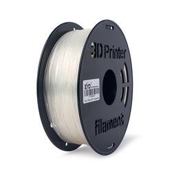 OEM manufacturer high quality 1.75mm transparent filament for 3d printer