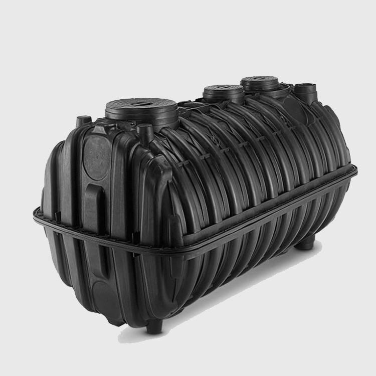 large capacity PP moulded grp septic tank for household use