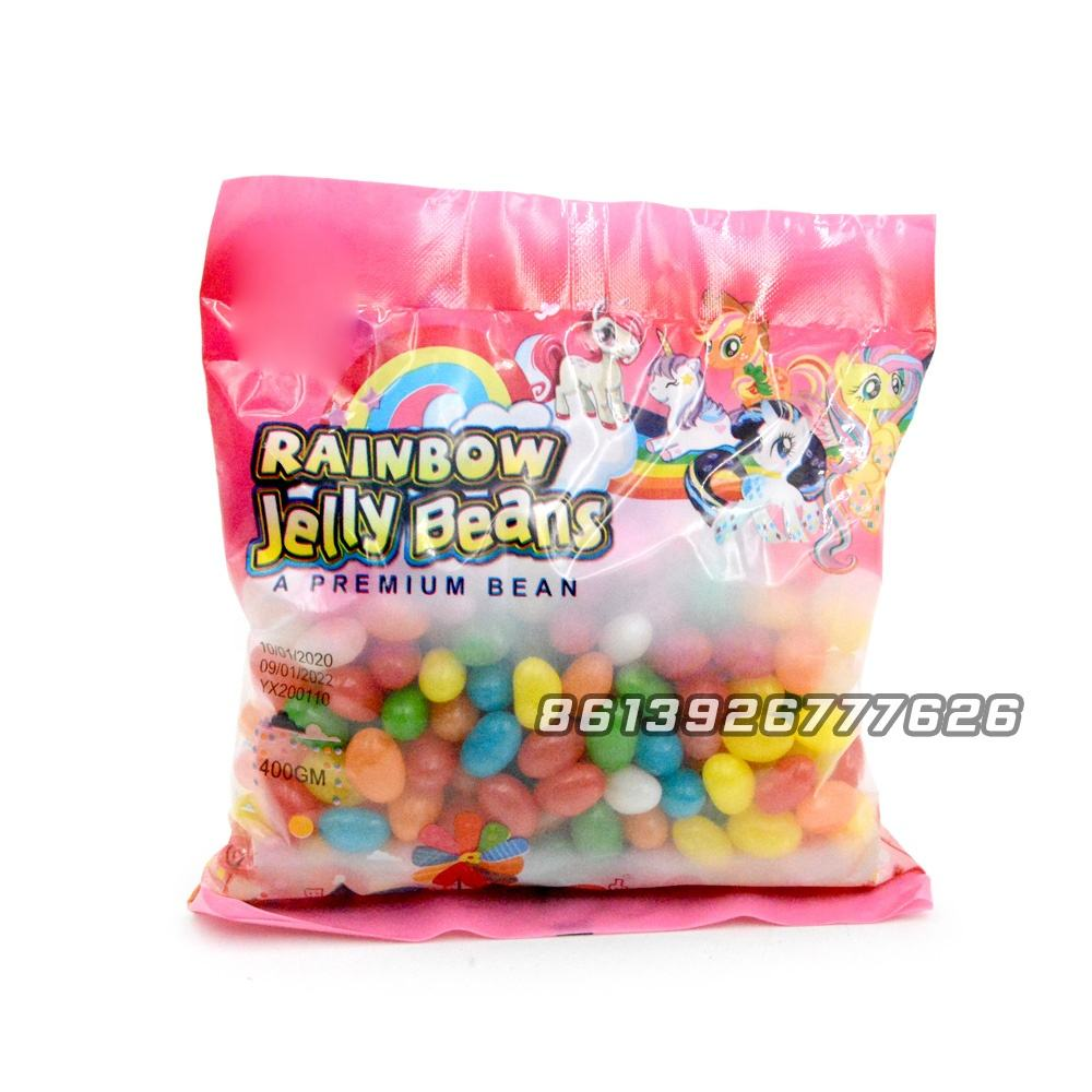 Cheap Bulk Package Rainbow Jelly Bean Soft Candy Confectionery Sweets Jelly beans
