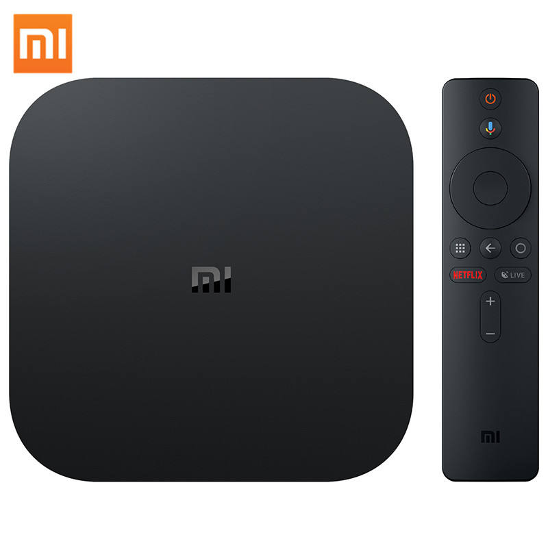Global Version Xiaomi Mi TV Box S Smart 4k HD Android 8.1 Smart Internet Box S for TV