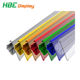 Supermarket Colorful Glass Shelving Plastic Price Label Holders Tag Holders