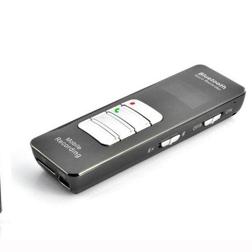 16GB Bluetooth Cuộc Gọi Điện Thoại Ứng Dụng Tin Nhắn Âm Thanh Thiết Bị Ghi Âm Với Microphone Bên Ngoài