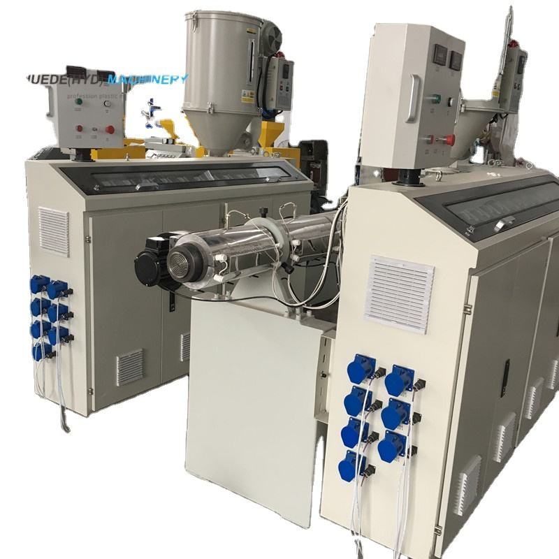 Plastic Small Pe Extruder machine for PP PE PVC Pipe Profile Granulation Product extrusion Machine