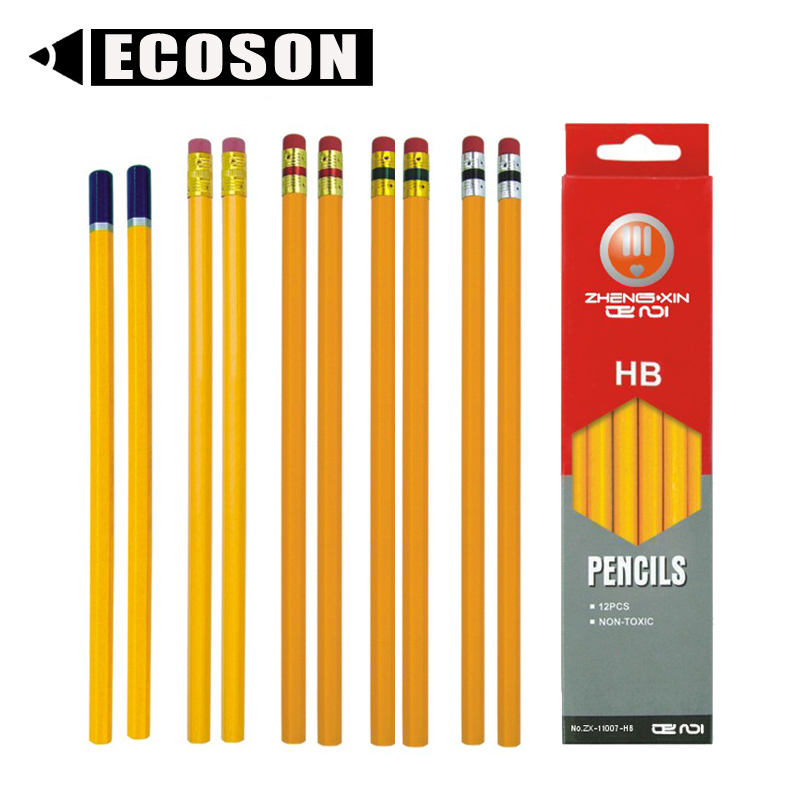 Factory High Quality Promotional Eco-Friendly Professional customized Pencil School Set Wooden Graphite Standard+Pencils