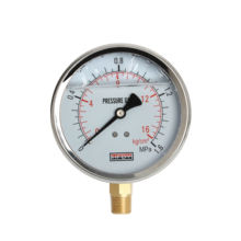 Accuracy 1.6% 2.5% Stainless Steel liquid Filled Pressure Gauge