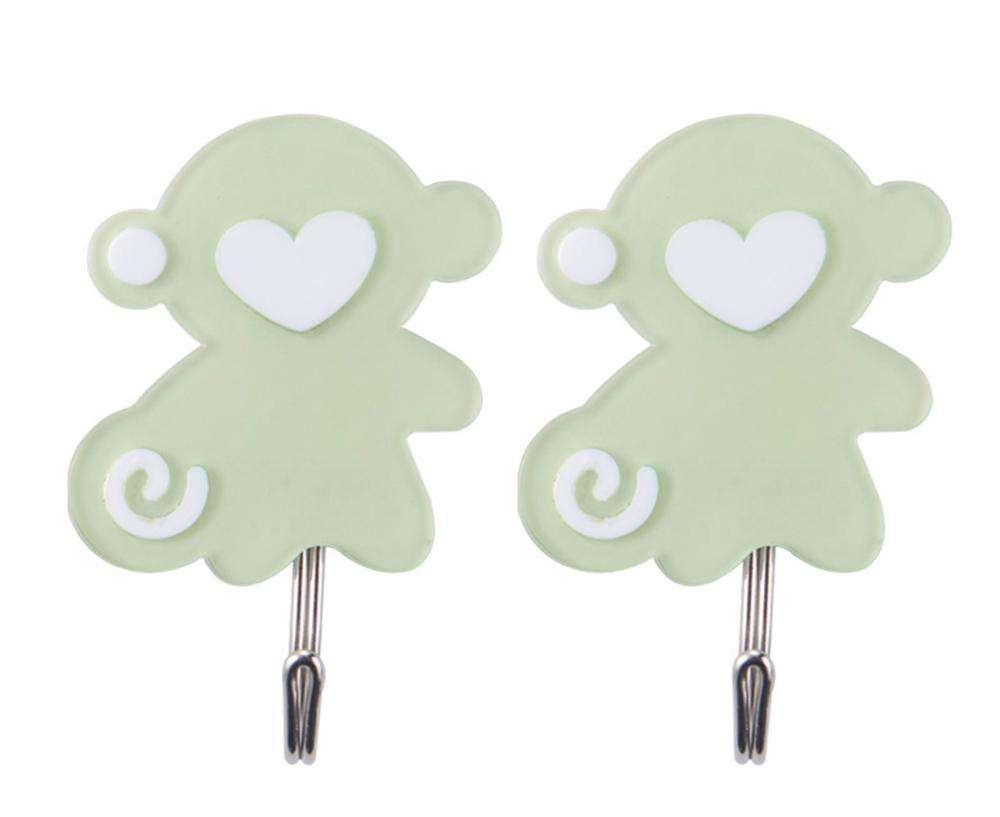 MOMO monkey shaped plastic hook hanger hook adhesive shop cute hooks