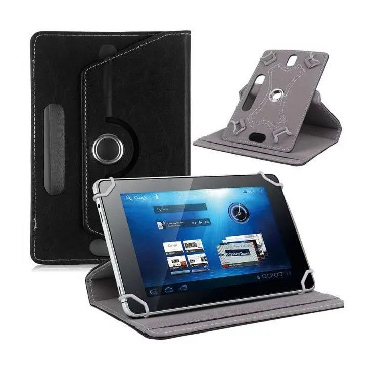Universal 360 Degrees Rotating 7 8 9 10 inch Tablet Shockproof PU Leather Stand Protective Case