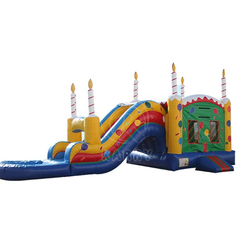 China Profession Supplier Inflatable Bouncer Castle Combo Slide For Party Good Sale Birthday Air Jumping House With Slide