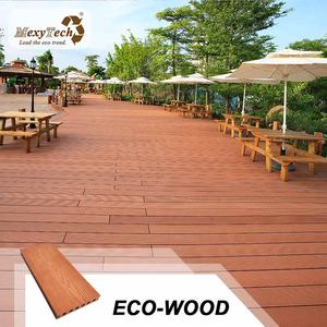 MexyTech groove plastic lumber decking wood plastic composite wpc timber decking