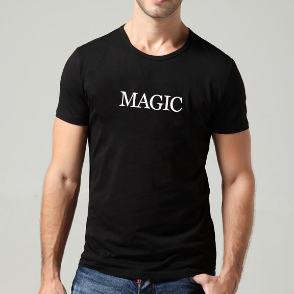 Wholesale Custom 100% cotton black T shirt with company logo Printed Plain tshirt men