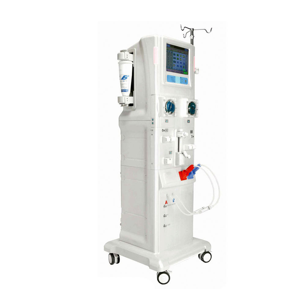 LTSH02 10.4inch screen double pumps best price china mobile dialysis hemodialysis