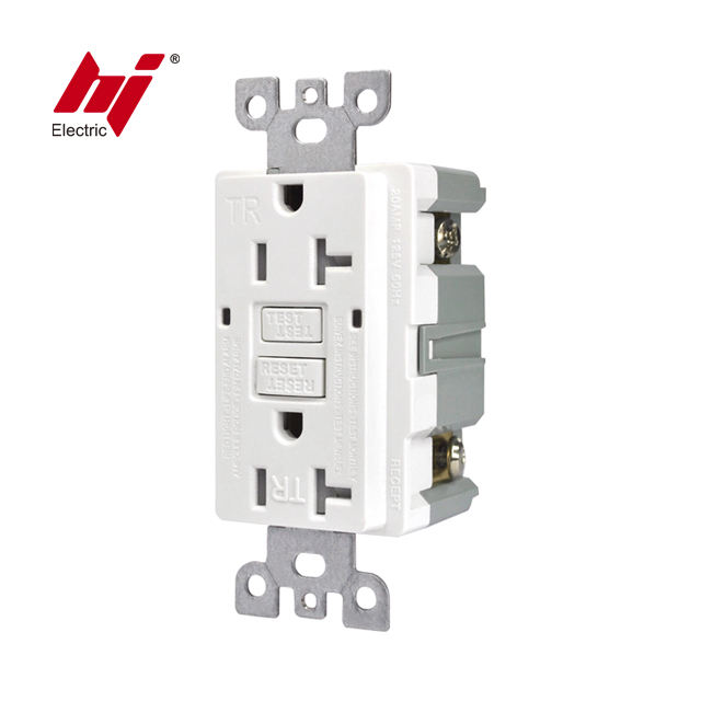 UL Listed 20A GFCI Outlet Tamper Resistance Receptacle with Self Test