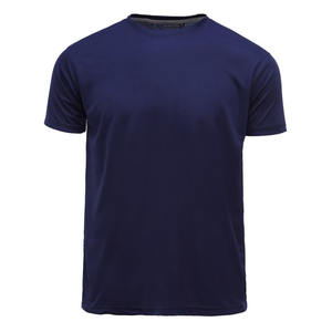 Custom Repreve recycled material t-shirt eco friendly 100% RPET polyester tees and bamboo fabric men's blank t shirt