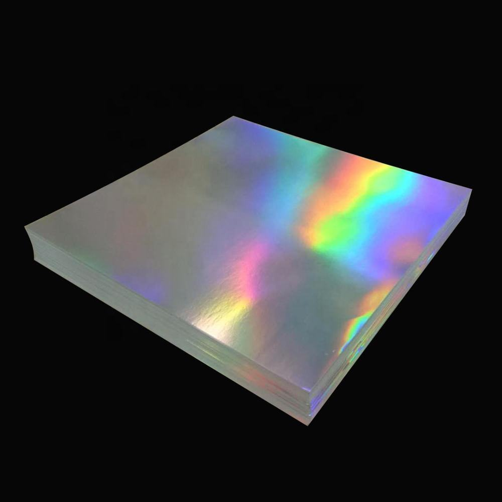 USA only A4 holographic printable holographic sticker paper with free ship