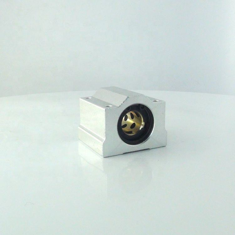 Metal Linear Ball Bearing Pillow Block Unit FOR CNC Linear Slide Unites Bushing Block Ball Bearing Motion SCS12UU