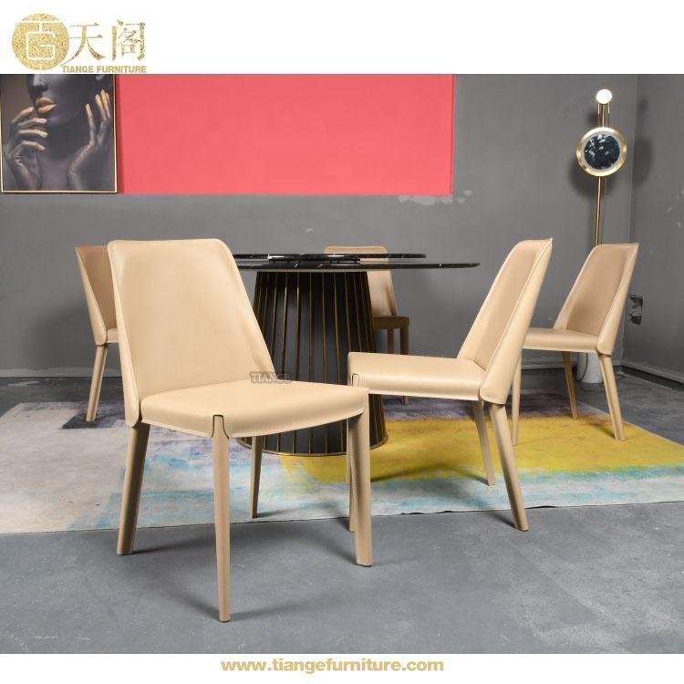 Moderne design Italien grassement <span class=keywords><strong>polyvalent</strong></span> selle cuir Flexform Isabel dinant la chaise