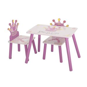 New Design Cheap Price Wooden Kids Study Table And Chairs