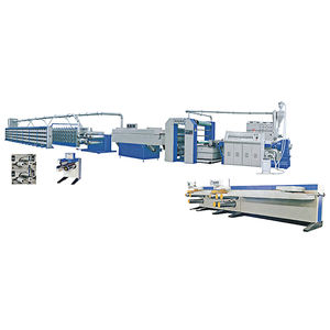 ZHUDING pp woven bag production line plastic flat yarn extruder machine