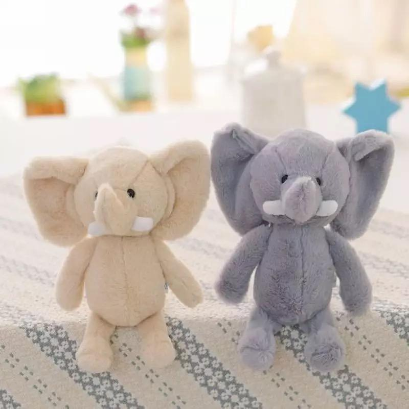 Hot Sale OEM Stuffed Cute Animals Custom Bulk Elephant Plush Toy