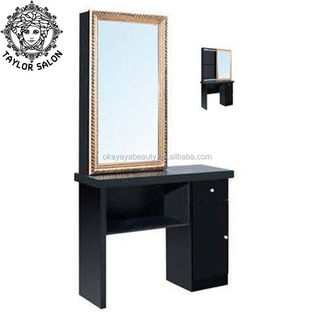 barber shop furniture modern hair salon styling stations salon mirror with dressing table