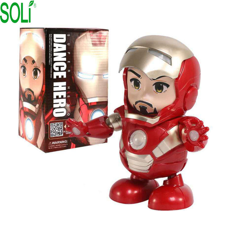 Marvel <span class=keywords><strong>de</strong></span> Robot <span class=keywords><strong>de</strong></span> juguete eléctrico juguetes figura <span class=keywords><strong>de</strong></span> acción