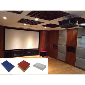 Court Project Sound Absorb Acoustic Material Fabric Acoustic Panel
