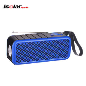 IS-X17 2020 Multi-function FM Radio Portable Stereo speaker lamp speakers bluetooth wireless