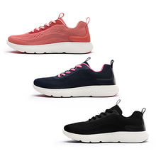 Women's Lace-up Mesh Upper Breathable Lightweight Casual Running Sports Shoes