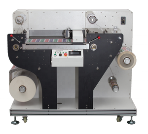 Rotary Digital Label Die Cutter Cutting Machine For Paper, PET, PE, PP