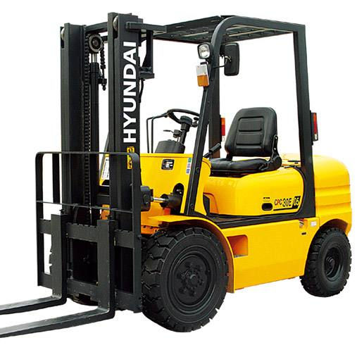 2ton 2.5ton 3ton 3.5ton Hyundai Diesel Forklift HD35 3500kg Widely Use Forklift Truck