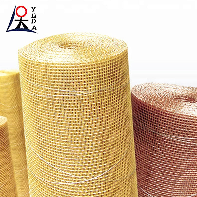Custom 75micron brass wire mesh for filter/brass woven wire mesh