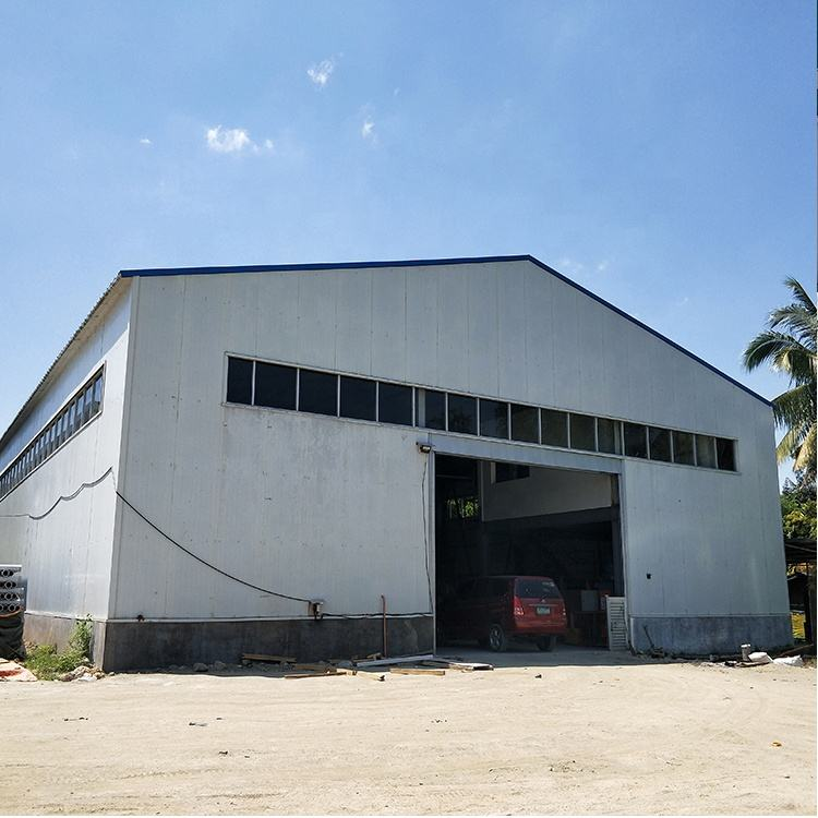 Warehouse building materials customized steel structure construction