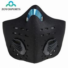 ZOYOSPORTS Activated Carbon Haze Anti-dust Filter Bike Bicycle Cycling Face Cover Protection Mouth-Muffle Dust Mask