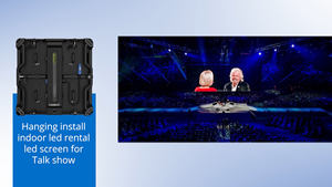 Stage background big Magnetic Module p3 LED Display / p3 LED Video Wall Indoor