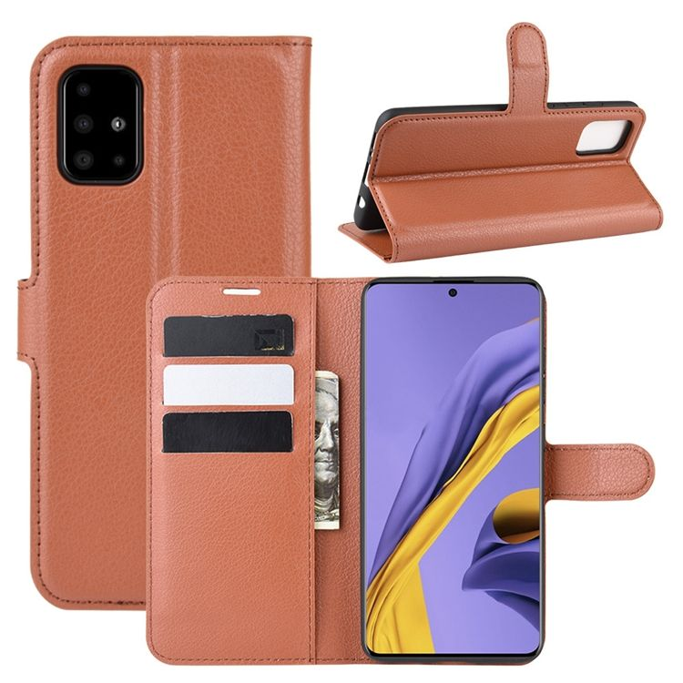 For Samsung Galaxy S30 NOTE 20 Ultra M31S S20 Plus S20 FE 5G A21 A31 A51 A71 Litchi Grain Wallet Leather Case Flip Stand Cover