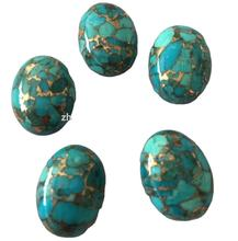 mass quantity to wholesale Kingman compressed copper Turquoise beads and Cabochons