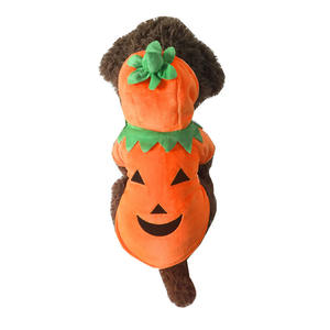 New Fashion Pet Apparel Dog Halloween Costumes Pumpkin Dog Clothes