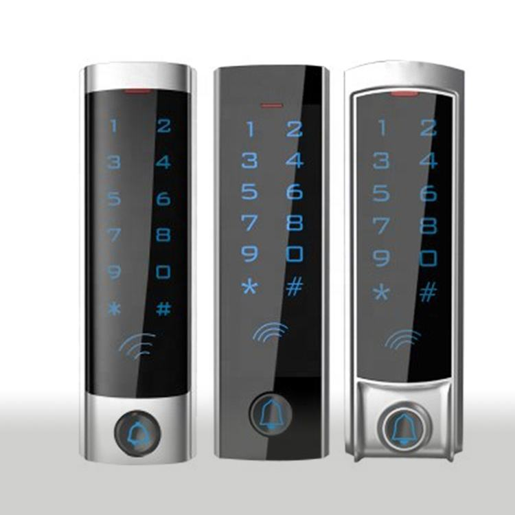 Hot Sales Standalone Metal Touch Screen Backlight Keypad Card Reader Password Wiegand Access Controller