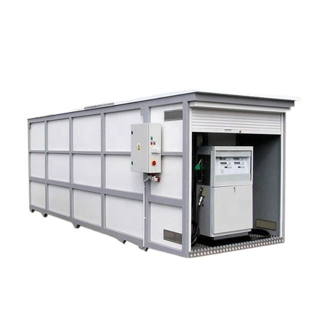Jinshuilong factory container diesel petrol filling mobile portable fuel station