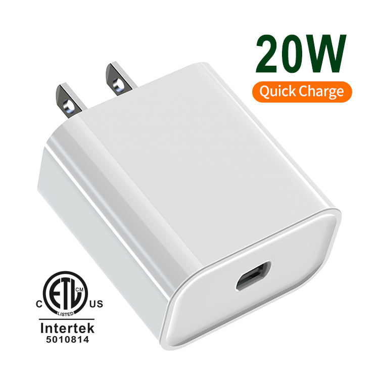 CB CE PD3.0 Certified passed wholesale cargador usb wall PD type c charger for iphone adapter