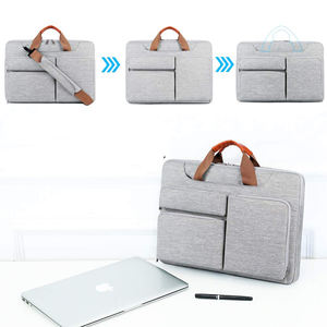 OEM ODM Factory Business Gift Custom Slim Laptop Computer Bag Fashionable Oxford Cloth Laptop Sleeve Handbags