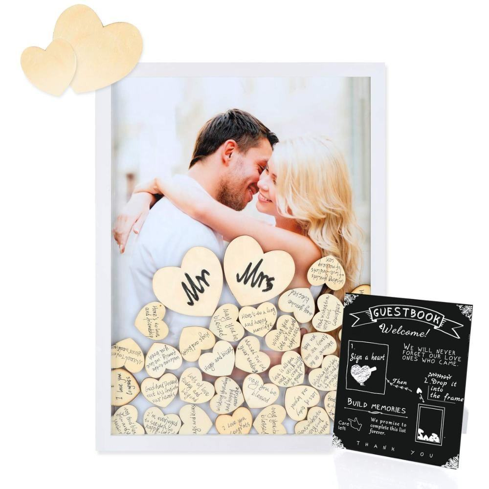 Unique wedding favors gifts Guest Book for wall decoration