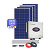Complete Solar System 3000w 4000w 5000w On Grid Solar Panel Kit