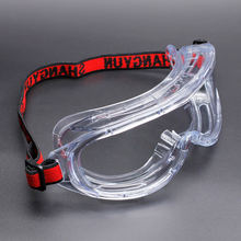 Professional Medical Resistant Anti Saliva Fog Safety Eye Protection Goggles Glasses