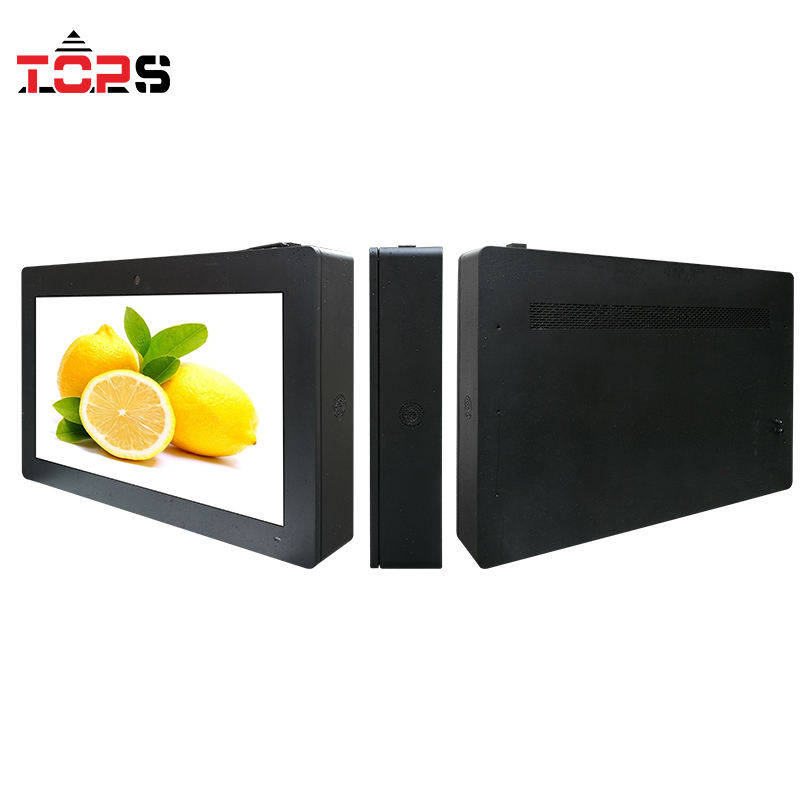 55 Inch Wall Mounted <span class=keywords><strong>Digital</strong></span> Sign <span class=keywords><strong>LCD</strong></span> Outdoor Advertising Pemain <span class=keywords><strong>Billboard</strong></span> Di Pintu Masuk Restoran