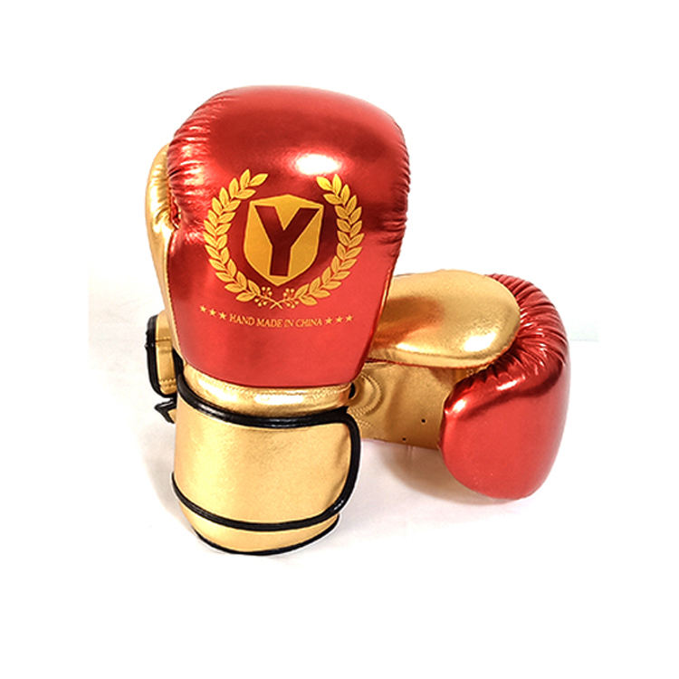 Metallic color training designer design your own customised boxing gloves with high quality