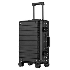 2020 hot selling suitcase travel bag luggage suitcase personalized travel trolley suitcase aluminum luggage case