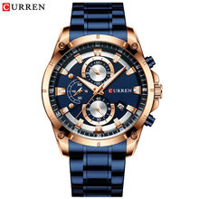 Fashion Sport CURREN 8360 Mens Quartz Watch Accept Custom Own Logo Name Your Brand Wrist Watches