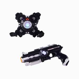 #2020 Nieuwe Amazon Verkopen Battle Game Elektrische Speelgoed Set Vest Infrarood Laser Tag Set Speelgoed Schieten Pistool Voor Kinderen laser Tag