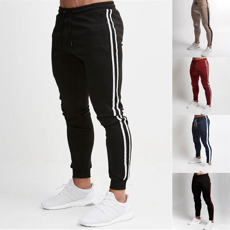 Custom Brand Mens Sports Jogger Compression Tranning Track Pants